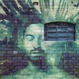 芸術的な壁画の画像