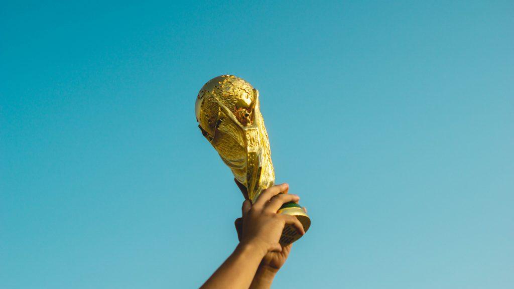 世界一の祝杯の画像