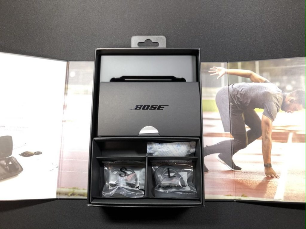 Bose SoundSport Free wireless headphones外箱